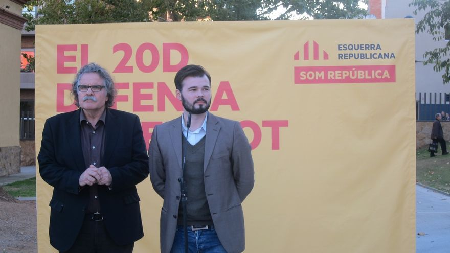 """Tardà (ERC) pide a Homs que """"se deje de puñetas"""" y sea fiel al votante independentista"""