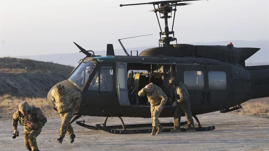 """Comienzan ejercicios de Estados Mayores """"OTAN-Georgia"""" en una base de Tiflis"""