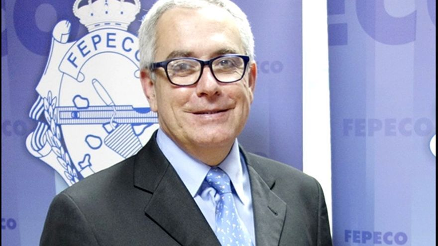 Óscar Izquierdo, presidente de la patronal de la construcción en la provincia tinerfeña (Fepeco)