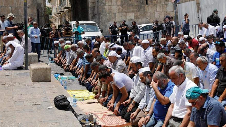 Los musulmanes desafían a Israel y rechazan entrar en la Explanada de Mezquitas