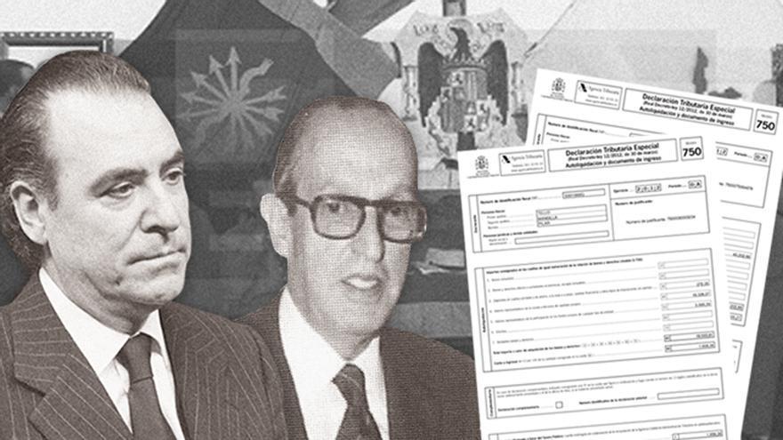 Hijos de altos cargos del régimen franquista regularizaron fondos ocultos en la Amnistía Fiscal