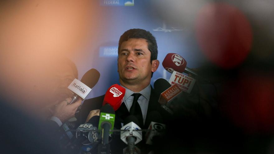 Sérgio Moro, ministro de Justicia del ultraderechista Jair Bolsonaro
