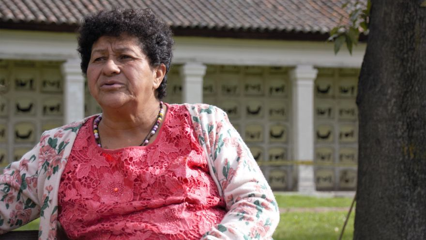 Blanca Monroy, una de las madres de Soacha   Pablo Rodero