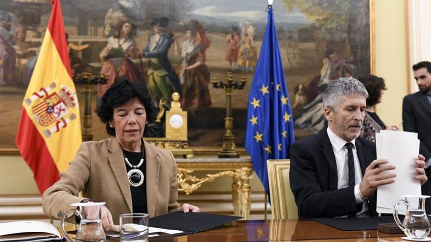 Celaá y Marlaska presentan primera unidad didáctica sobre terrorismo para ESO