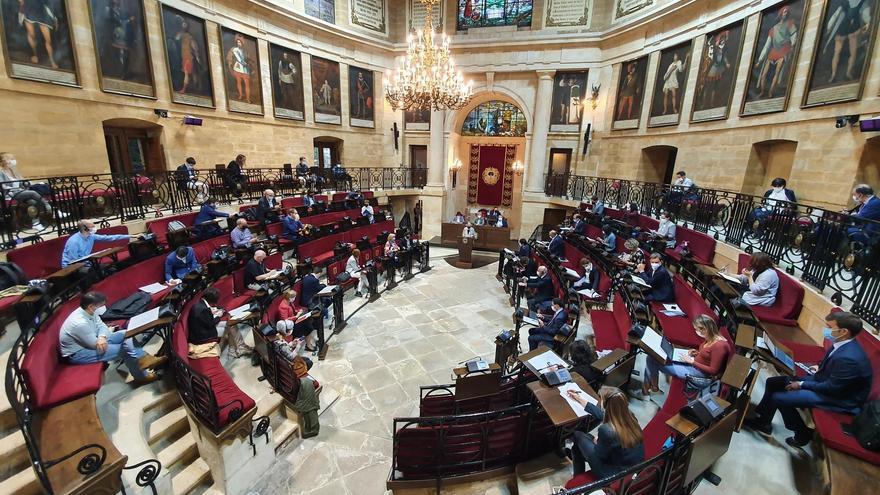 Imagen de archivo. Pleno de las Juntas Generales de Bizkaia