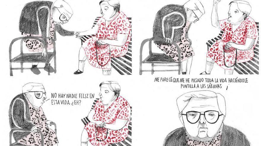 Viñetas de 'Estamos todas bien'