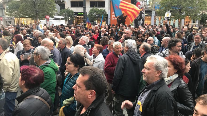 Arran ha convocado una concentración para exigir la libertad para los presos del 'Procés' a las puertas de la delegación del Gobierno en Valencia