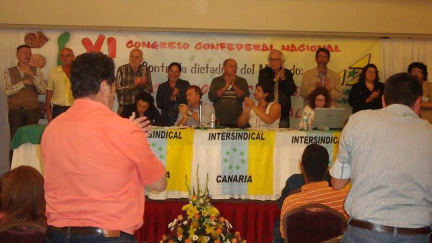 Fotografía del Congreso Confederal Nacional de IC celebrado en 2011.
