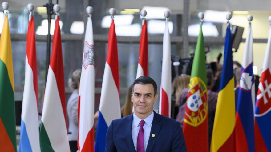 El presidente del Gobierno en funciones, Pedro Sánchez, el 12 de diciembre en Bruselas.
