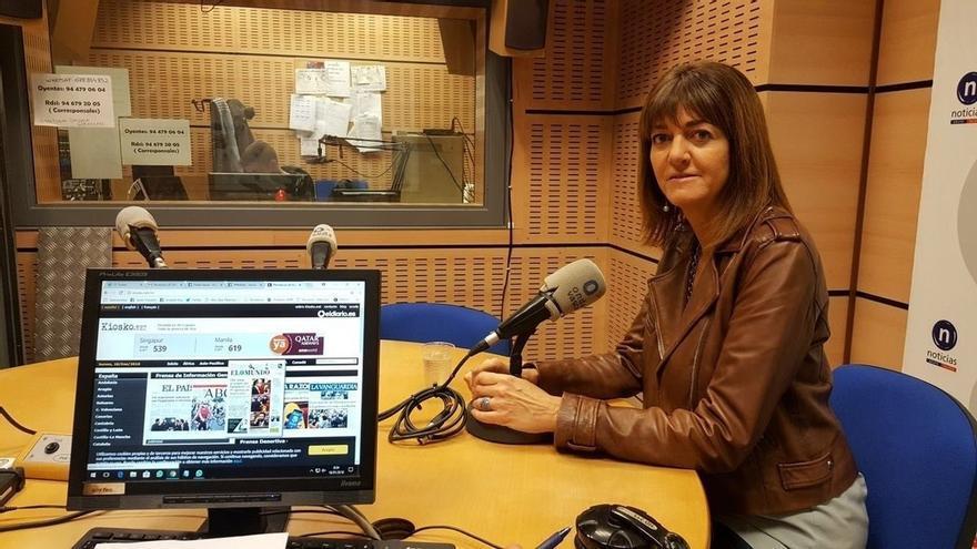 """Mendia cree que a Rajoy """"no le quedaría más remedio que seguir aplicando el 155"""" si se sigue optando por Puigdemont"""