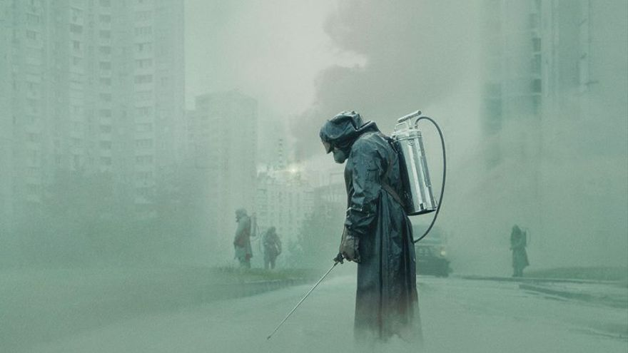 Imagen promocional de la serie 'Chernobyl'
