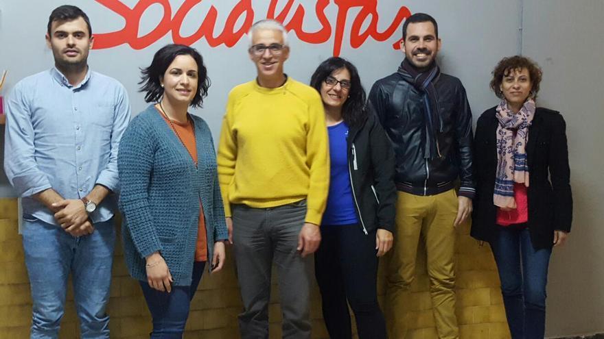 Nueva  Comisión Ejecutiva Local  del PSOE de Barlovento.