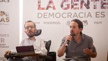 """Iglesias exige que Delgado deje la política: una ministra no puede ser """"amiga"""" de un """"tipejo"""" como Villarejo"""