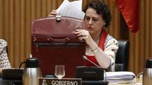 La ministra de Trabajo, Magdalena Valerio, en una imagen de archivo en el Congreso.