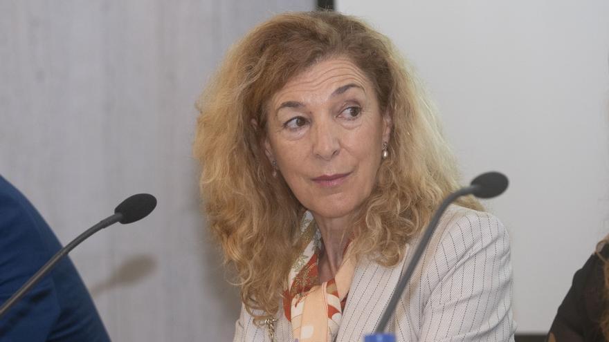 Margarita Ramos participó en la simposio de la OIT.