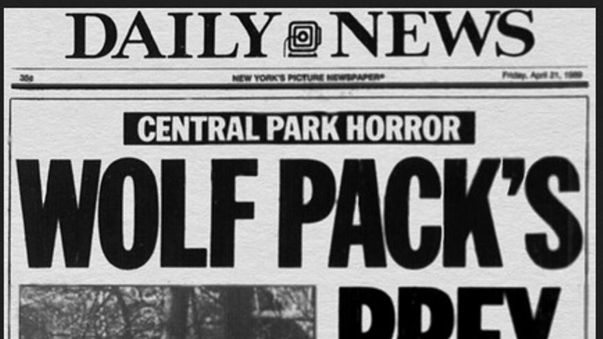 La portada del Daily News.