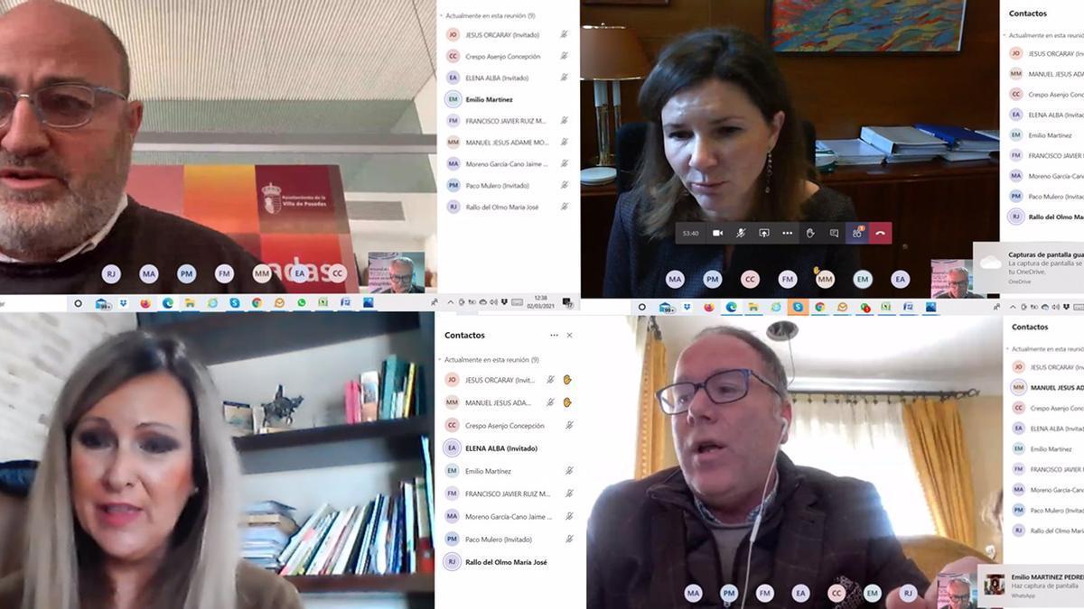 Reunión telemática del GDR del Guadalquivir con el Ministerio de Transportes, Movilidad y Agenda Urbana sobre el Cercanías.