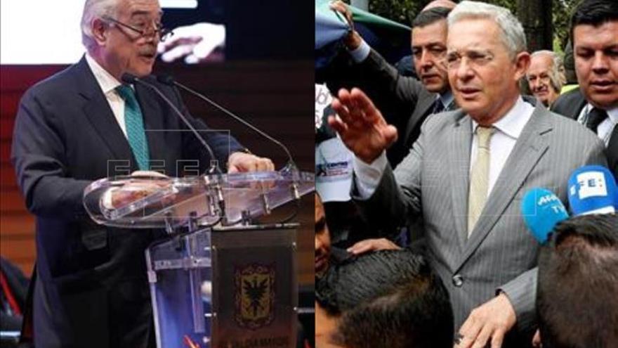 Uribe y Pastrana conforman alianza para ganar Presidencia de Colombia en 2018