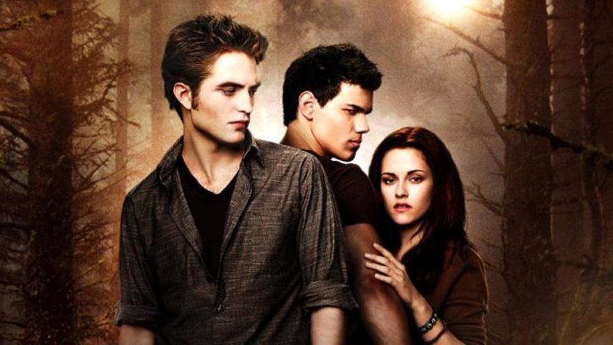 Cartel de promoción de la saga 'Crepúsculo'