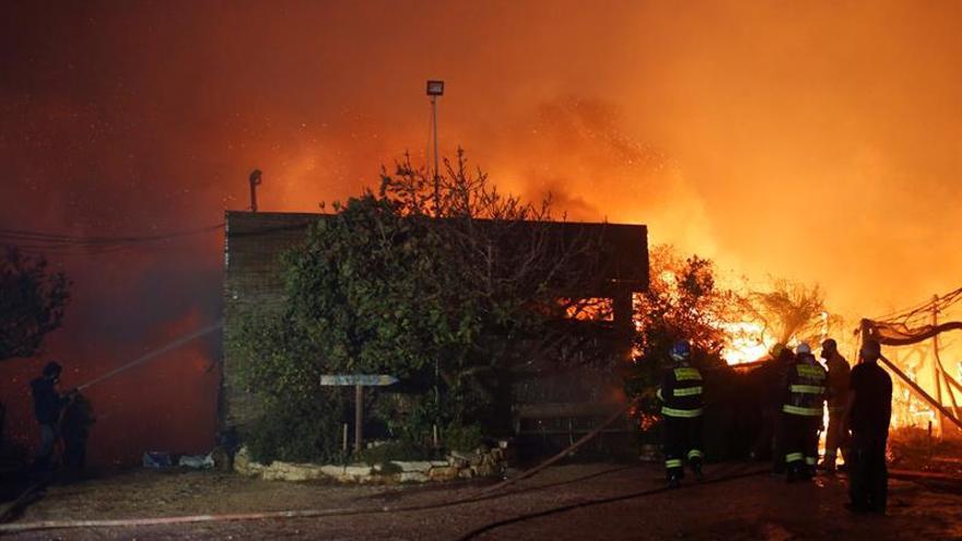 Israel detiene a varios sospechosos de los incendios pero evita declararlo terrorismo