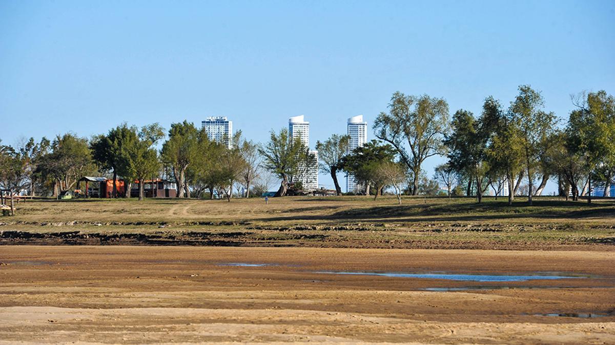 La bajante del Río Paraná es histórica.