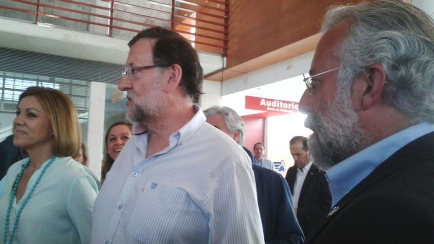 """Rajoy defiende las """"ideas profundas y convicciones firmes"""" del PP frente a los que se dedican a """"frivolizar"""""""
