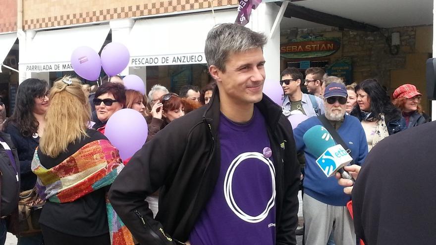 """Iturria (Podemos) dice que """"a priori"""" no van a """"buscar pactos para la gobernabilidad"""" en Gipuzkoa"""