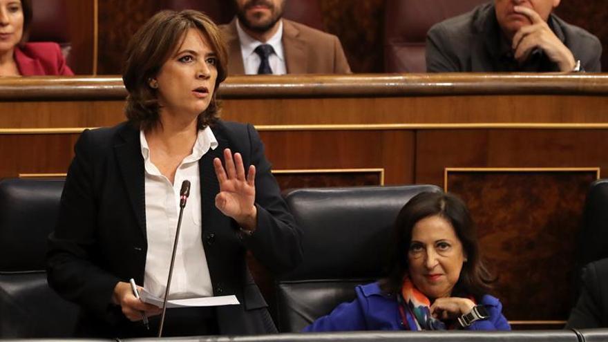 Delgado achaca a la gestión del PP la próxima huelga de jueces y fiscales