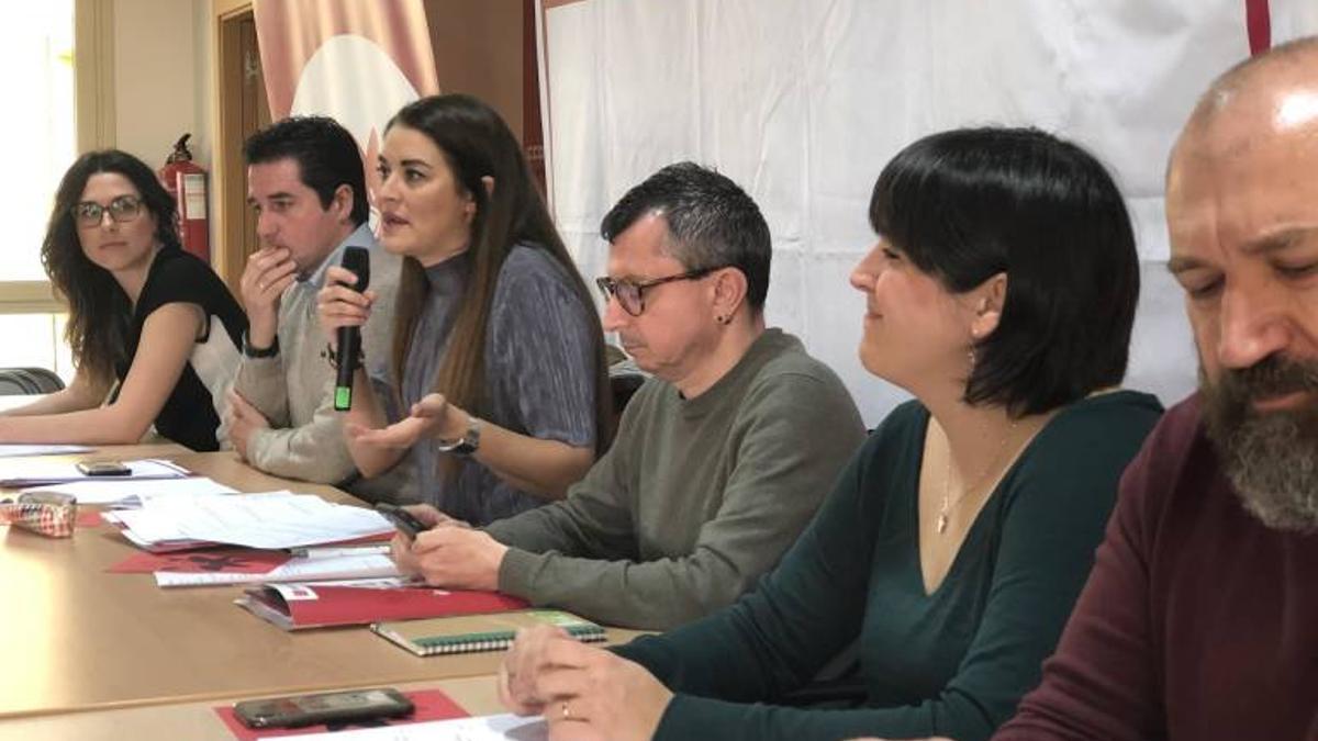 Una reunión de la Ejecutiva de Iniciativa-Compromís.