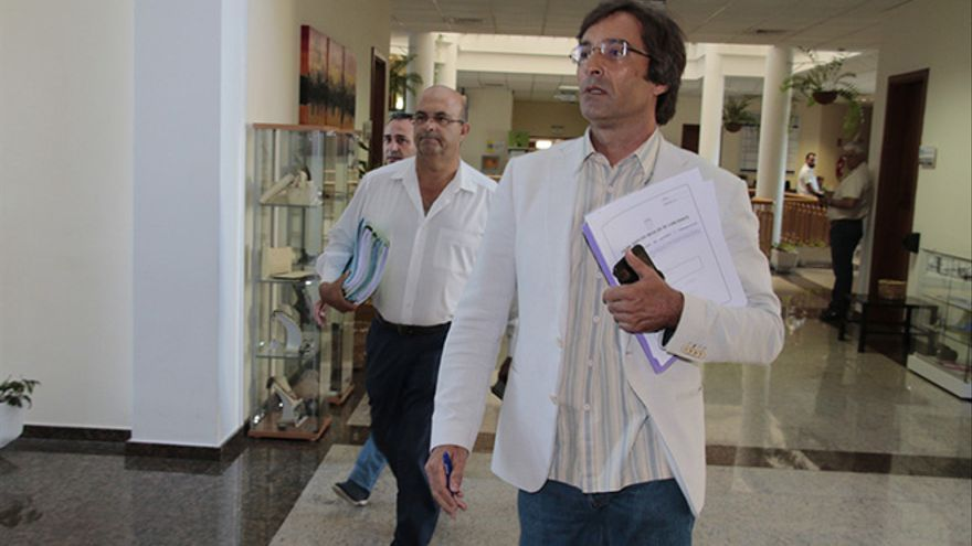 El presidente del Cabildo de Lanzarote, Pedro San Ginés. (Diario de Lanzarote).
