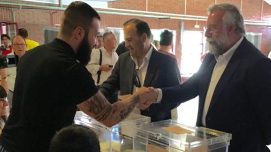 El alcalde de Talavera y el delegado del Gobierno / Cadena Ser