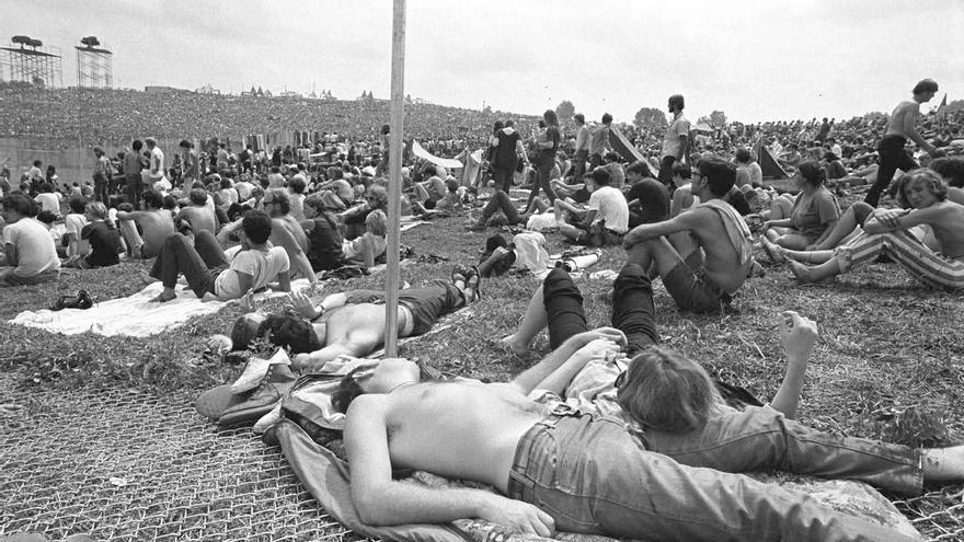 Exposición Woodstock/ Fotografía cedida por Baron Wolman