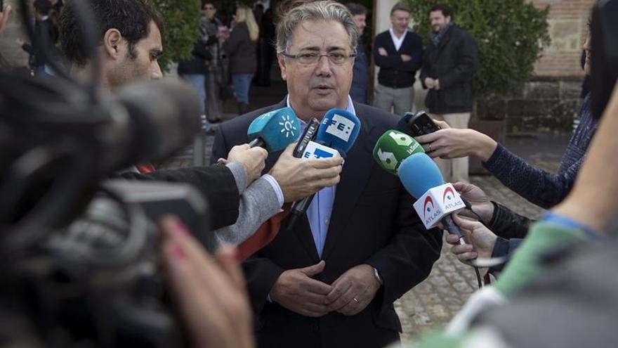 Zoido lamenta que representantes institucionales fueran a la concentración en Alsasua