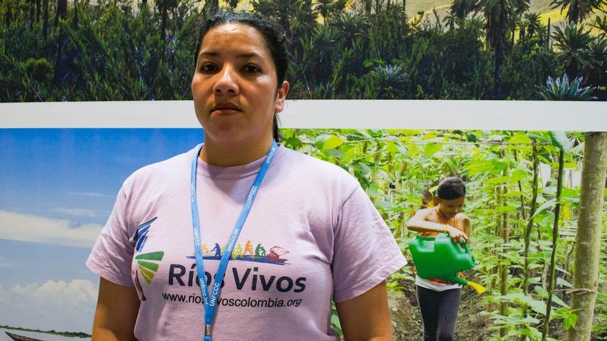 Milena Florez, activista ambiental de la asociación Ríos Vivos