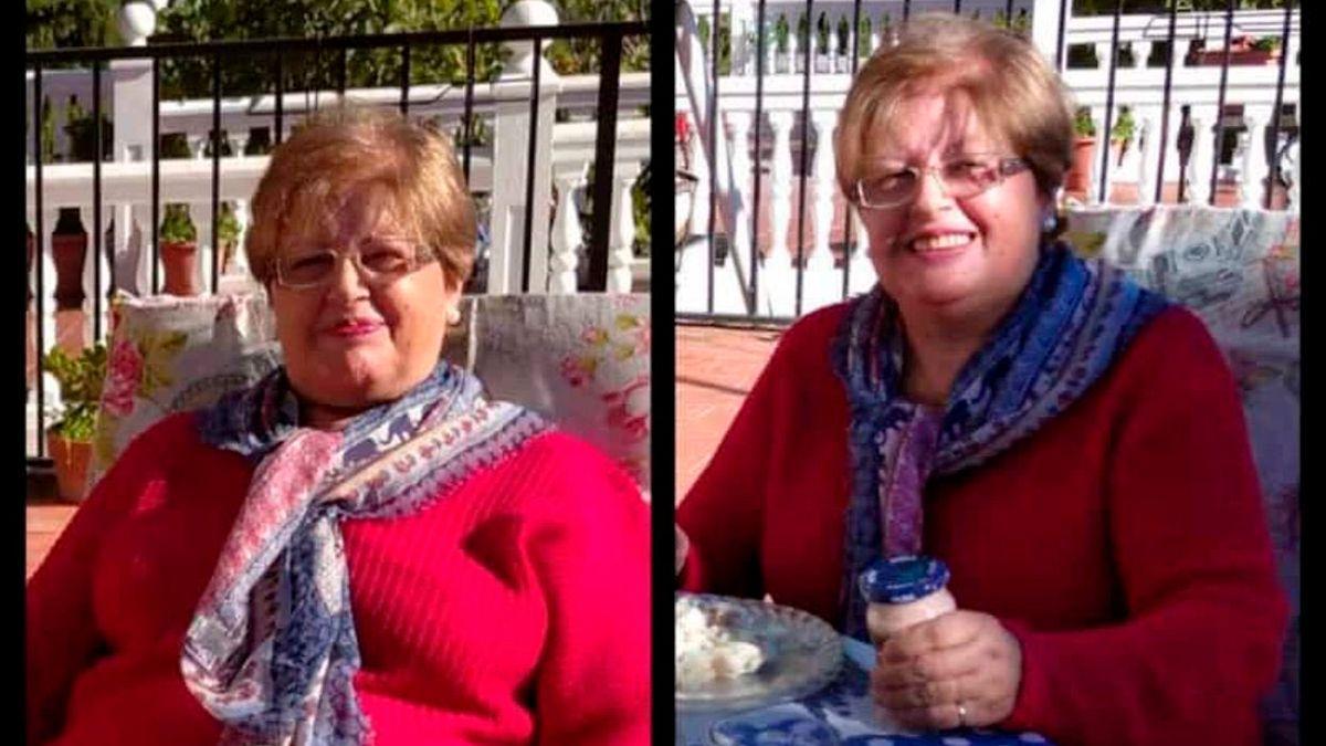 María Ángeles, la mujer de 74 años a la que busca la Policía y su familia.