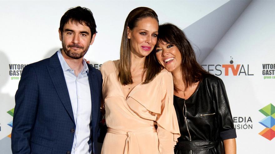 Juanra Bonet, Eva González y Vanesa Martín, hoy en Vitoria