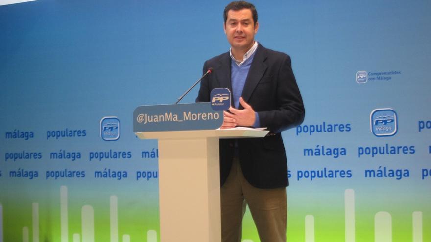 Juanma Moreno será el cabeza de lista del PP-A por Málaga