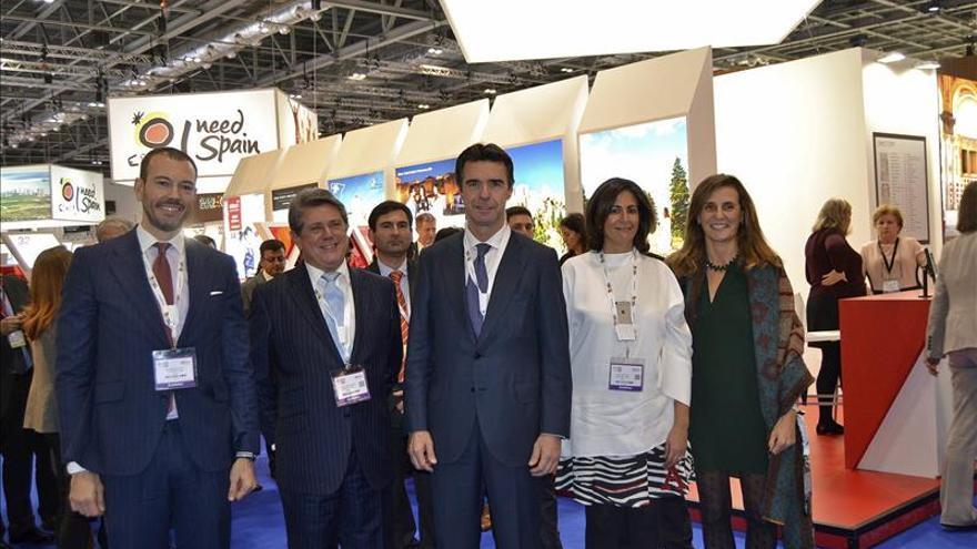 Soria destaca la competitividad del sector turístico español frente a sus rivales