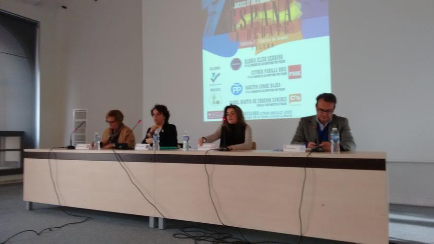 Debate a cuatro en la Universidad de Castilla-La Mancha