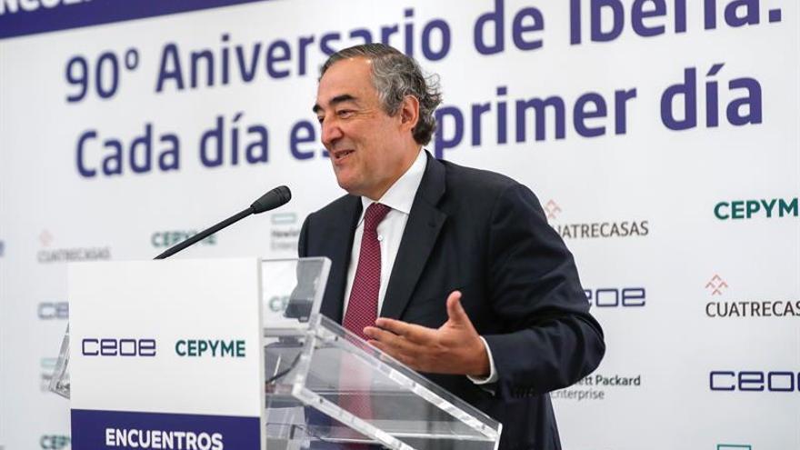 CEOE y Cepyme culpan a los sindicatos de romper el acuerdo salarial para 2017