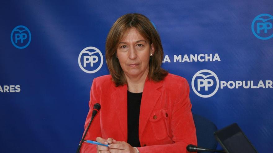 Ana Guarinos, presidenta del Grupo Parlamentario Popular Castilla-La Mancha