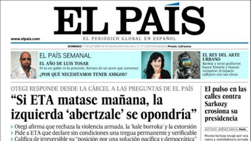 De las portadas del día (17/10/2010) #6