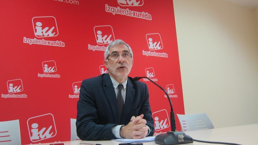 Llamazares pide que se reconozca a los trabajadores se subcontratas de Hunosa su condición de excedentes mineros