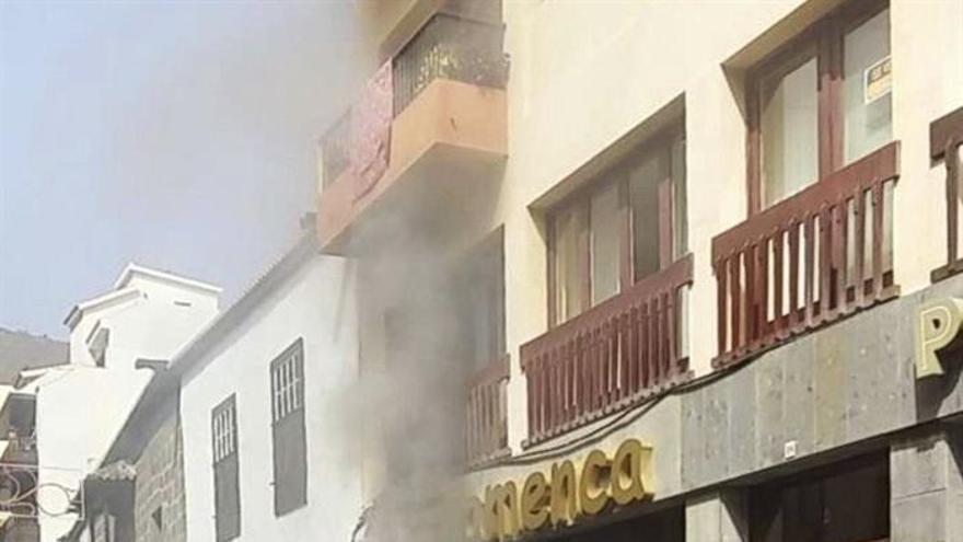 En la imagen, la tienda, situada en la Calle Real de Santa Cruz de La Palma, donde se ha registrado el dramático suceso. Foto: EFE/Miguel Calero