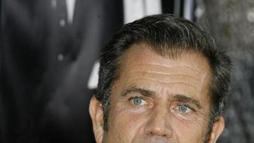 Primer plano del actor Mel Gibson