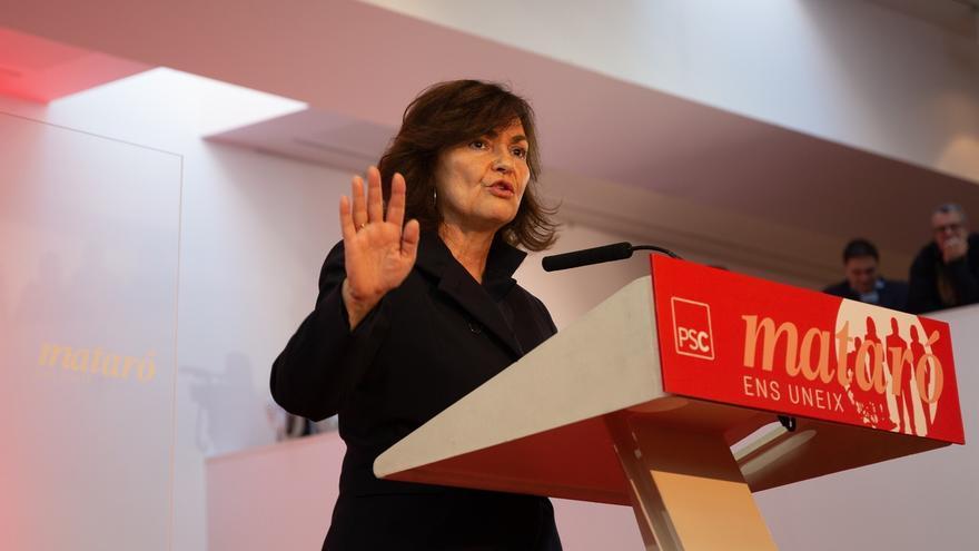 """Calvo asegura que los socialistas no utilizan Cataluña como """"están haciendo otros"""""""