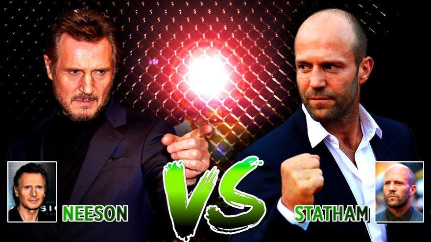 Liam Neeson vs Jason Statham: ¿qué héroe de acción golpea más y mejor en prime time?