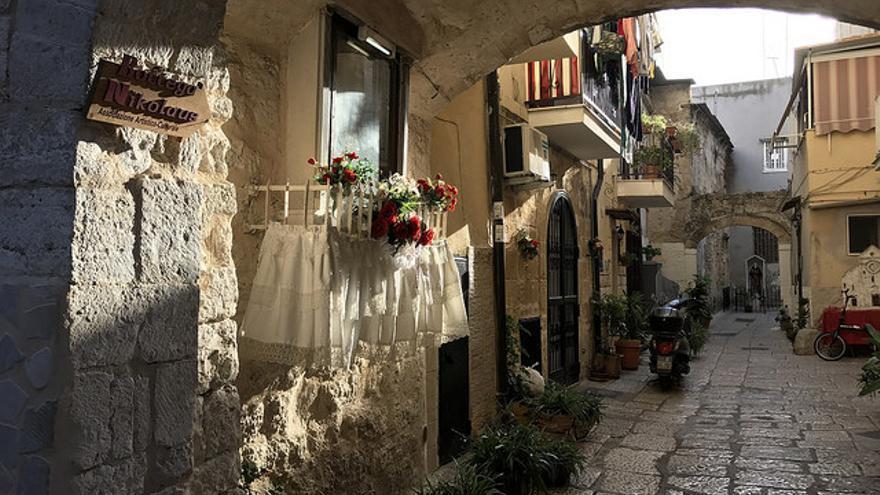 Callejuelas del centro histórico de Bari. Alan Farhadi