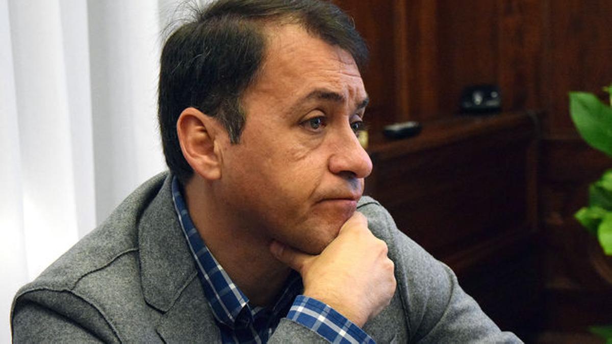 José Manuel Bermúdez, alcalde de Santa Cruz
