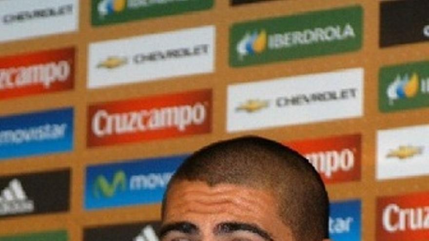 Victor Valdés Rueda De Prensa Selección